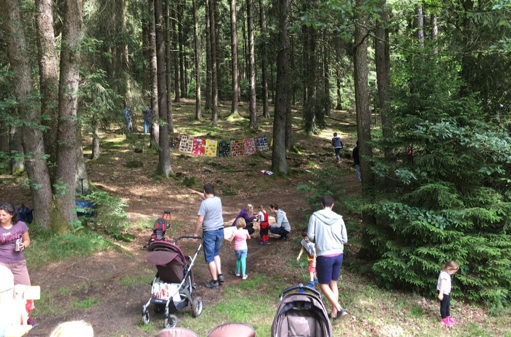 Abschluss unserer Waldwoche