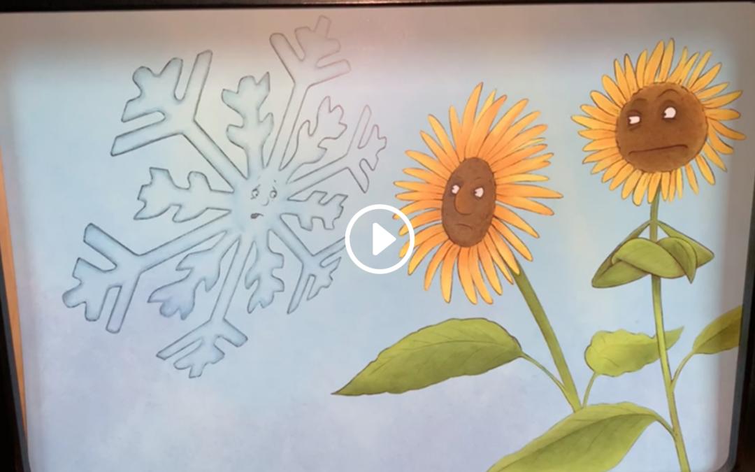 Kamishibai: Wie der Schnee zu seiner Farbe kam